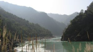 Himalayan Ranges in Rishikesh
