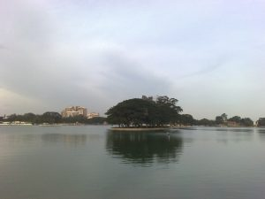 The Ulsoor Lake - One of the Numerous lakes in Bangalore