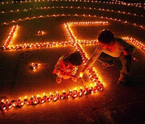 Diwali as it is meant to be - Joy and Happiness all around