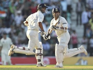 World Record century partnerships between Sachin & Dravid