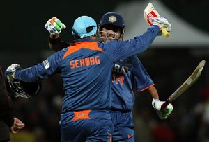 Sehwag and Gambhir opened for Delhi too