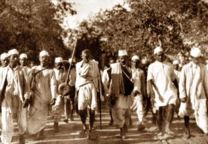 The 240 mile Dandi March was done in 1930