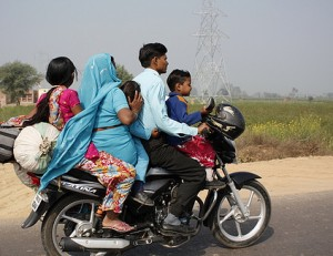 A typical Indian family