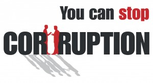 Walk together against corruption