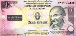The Zero Rupee Note - Stop Corruption