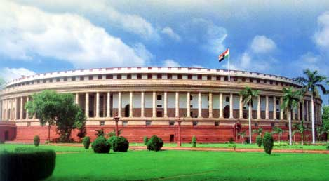 The Epicentre of Democracy - Indian Parliament
