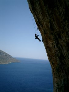 Climbing the mountain of life, the easy way or the right way