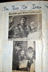 Kumble's Homecoming