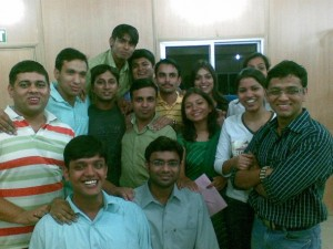 My farewell from InfoEdge in Oct 2008, a very emotional moment