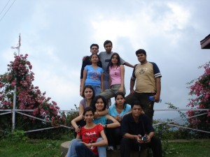 The 99acres team of 2008, at Mashobra