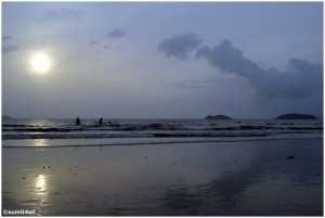 A picturesque scene at the Karwar Scene