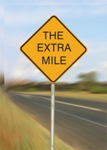 Can you go the extra mile?