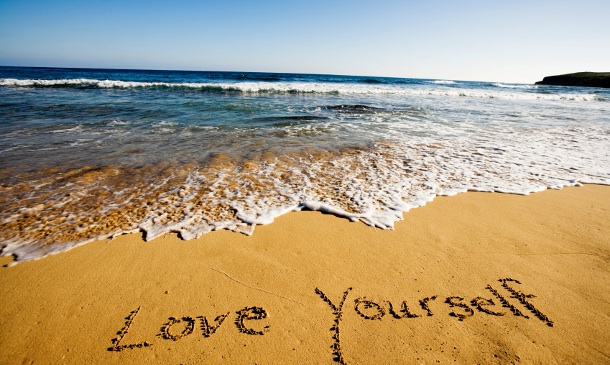 """To love oneself is the beginning of a life-long romance"" - Oscar Wilde"