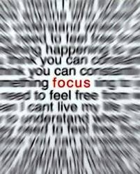Can you focus on what is REALLY important?