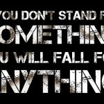 How standing for something bigger than yourself is related to motivation?