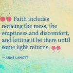Keeping Faith Takes Courage