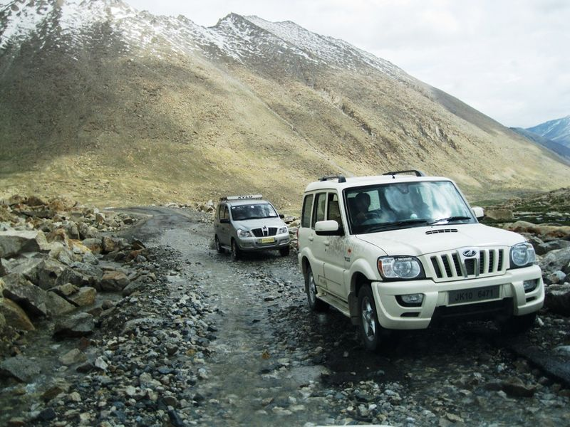 The Scorpio can be your ideal vehicle for a drive up the Himalayas
