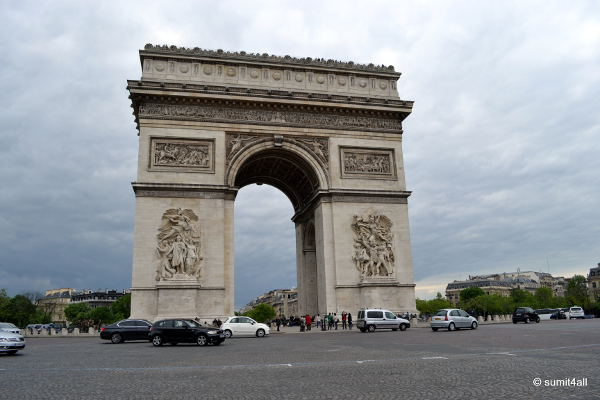 Arc de Triomphe - find it familiar?