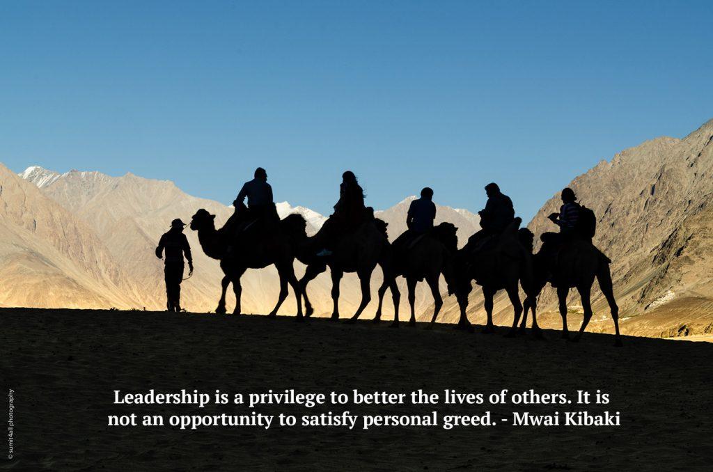 Leadership is Service